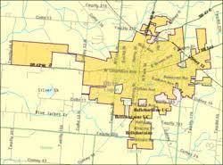 ohio map of cities bellefontaine ohio