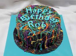 butterface cakes paint splatter cake party ideas pinterest