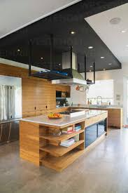modern kitchen cabinets canada kitchen with american walnut wood island cabinets and