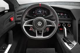 altezza car inside volkswagen design vision gti concept interior transport design