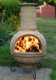Cooking On A Chiminea Recreational Fire Pits
