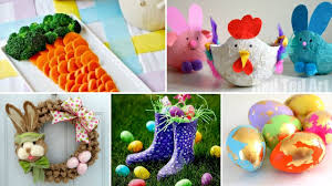 diy easter projects eggs table basket treats and nail decor