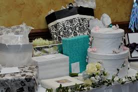 wedding gift table ideas wedding card box idea a wedding cake cheryl barker