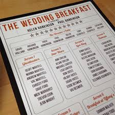 Wedding Table Themes 101 Great Ideas For Your Wedding Table Names