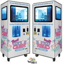 cotton candy rental rent coin operated self serving cotton candy dispenser in chicago il