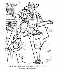 the thanksgiving coloring page sheets the pilgrims