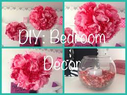 Homemade Room Decor by Diy Bedroom Decor Youtube