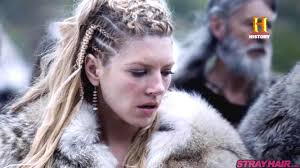 Lagertha Lothbrok Hair Braided | awesome new vikings hairstyles coming in season 4 strayhair
