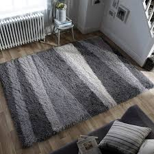 Shaggy Grey Rug Shaggy Rugs Luxurious Rugs Large Shaggy Rugs Therugshopuk