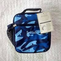 Pottery Barn Planetbox Pottery Barn Kids Planet Box Shark Blue Lunch Box Bag Nwt Ebay