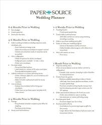 Wedding Program Examples 8 Wedding Plan Examples In Word Pdf