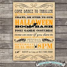 ideas about vintage halloween invitations for your inspiration