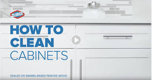 Cabinet Tips For Cleaning Kitchen by How To Clean Kitchen Cabinets Clorox