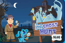 blue u0027s clues ghost hunt nick jr children games video