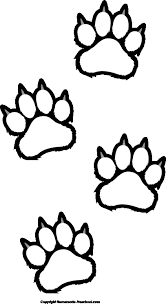 coloring page tiger paw panther paw coloring page 29 images of tiger paw template infovia