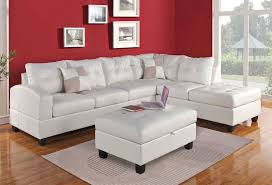 Cheap White Leather Sectional Sofa Bailey White Leather Sectional Sofa 1 Jpg