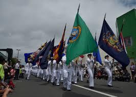 Japanese Navy Flag American Day Fosters Friendship Between Japan U S Communities