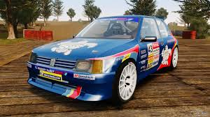 peugeot 205 rally peugeot for gta 4