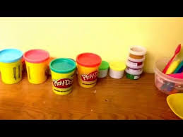 how to make brown play dough youtube