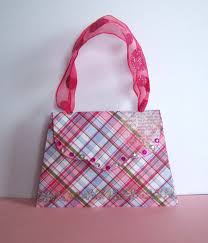 shoregirl u0027s creations paper purse