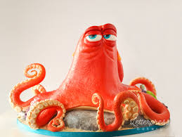 hank the septopus from finding dory sculpted 3d cake album on imgur