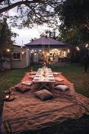 How To Throw A Backyard Party How To Host A Bohemian Dinner Party U2013 Spell U0026 The Gypsy Collective