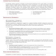 free resume objective sles for administrative assistant stirring administrative objective for resume template assistant