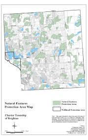 Map Of Area Codes Code Of Ordinances Brighton Township Mi