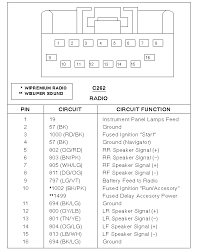 2007 ford focus radio 2007 ford focus stereo wiring diagram 2007 ford focus radio wiring