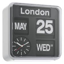 Coolest Clock by Flap Black Small Analogue City Wall Clock Buy Now At Habitat Uk