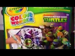crayola color teenage mutant ninja turtles metallic paper