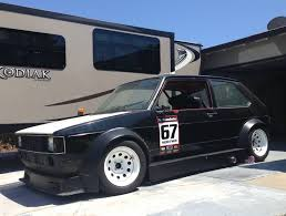 volkswagen rabbit truck 1982 berg cup widebody w 1 8t swap 1982 volkswagen rabbit track