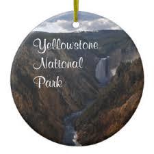 yellowstone national park ornaments keepsake ornaments zazzle