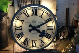 lighted digital wall clock miracle illuminated wall clock backlit digital battery