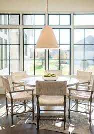 Woven Chairs Dining Gray Woven Chairs At White Lacquer Table Transitional