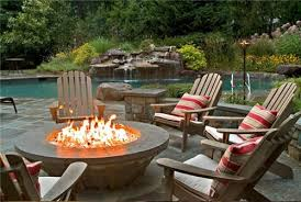 Outdoor Furniture With Fire Pit by Patio With Fire Pit Shares Beautiful Awe With Personality Richness