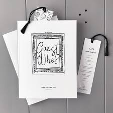 guest books for wedding guest who the alternative wedding guest book illustries