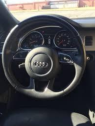 Audi Q7 2013 - blank button on steering wheel 2013 q7 s line audiforums com