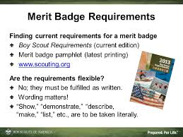 merit badge counseling ppt download