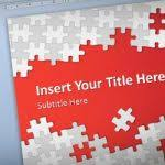 powerpoint animated templates free download 2010 free puzzle