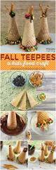 thanksgiving cornucopia treats fall ice cream cone teepees recipe thanksgiving table kid
