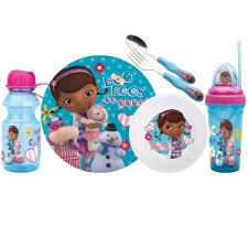 Doc McStuffins Dinnerware Set Cool Stuff to Buy and Collect