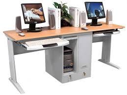 desk workstation office desk computer desk with tray adjule computer workstation small corner computer