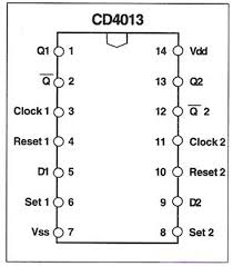 cd 4013 based two way switch circuit diagram