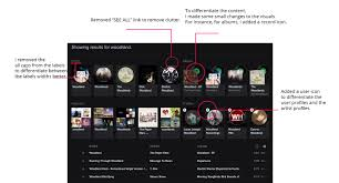Search Design by I Love You Spotify U2026 Now Change A Web App Review In The Form Of