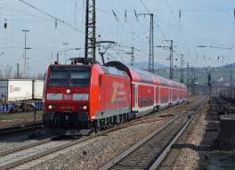 Basel Bad Bf Db Re Offenburg Basel Badischer Bahnhof Mit Der 146 113 6 Bei Der