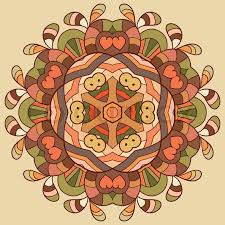 circle lace organic ornament ornamental doily pattern