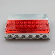 led side marker lights for trucks 24v 24leds ultrasonic welding led clearance lights with corner