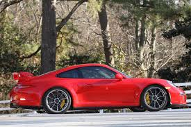 porsche carrera red 2014 porsche 911 gt3 1 100 mi guards red black rennlist