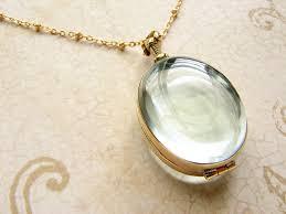 custom lockets oval beveled glass locket necklace personalized oval heirloom